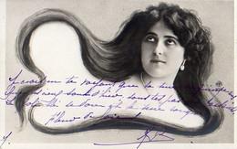 Femme Photo 926, Cheveux Longs Artiste Cabaret 1900 NPG 117/8 - Women