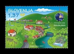 Slovenia 2021 Mih. 1467 European Destinations Of Excellence. Dolenjska MNH ** - Slovenië