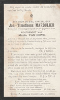 ABL, Mardulier , Hasselt 1877 - Caeskerke 1916 , - Obituary Notices