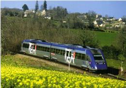 Salan (12) Train  L' X72517/518 Midi Pyrénées Assure Un TER  Rodez Toulouse RV - Otros Municipios