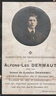 ABL, Dermaut , Rousselare 1894 - Steenstraete 1915 - Obituary Notices