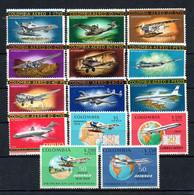 R2-24 Colombie PA N° 451 à 460 ** Avions A Saisir !!! - Colombia