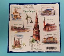 FRANCE / 2012 / Y&T N° 4637/4640 ** En BF Ou F4637 ** Capitales Européennes : Copenhague - Nuovi