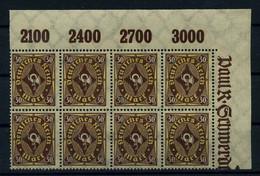 DEUTSCHES REICH 1921 Nr 208 Postfrisch (111107) - Unclassified