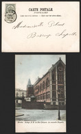 Carte Postale - Binche : Collège N.D. De Bon-secours, La Chapelle (En Couleur). TB ! - Binche