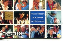 TELECARTE  France Telecom  120. UNITES - Telecom Operators