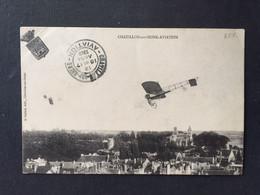 CHATILLON Sur SEINE -AVIATION  + Cachet- 1913 - Meetings