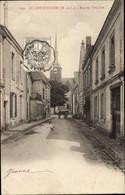 CPA Le Lion D'Angers Maine Et Loire, Rue De L'Ourliere - Altri Comuni