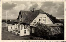 CPA Nebel Auf Der Insel Amrum Nordfriesland, Bahnhofshotel, M. Detlefsen - Other