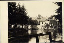 Photo CPA Boult Sur Suippe Marne, Flusspartie, Haus Mit Granateneinschlag, Kriegszerstörungen, I WK - Otros Municipios