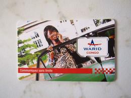 GSM SIM   WARID CONGO  MINT - Congo