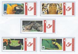 Duostamp  WWF Biodiversité     (MNH) - Personalisierte Briefmarken