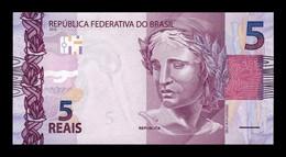 Brasil Brazil 5 Reais 2010 (2013) Pick 253a SC UNC - Brazil