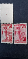 TIMBRES FRANCE VARIETES SUR 401 Xx.superbe. - Curiosities: 1931-40 Mint/hinged