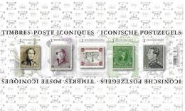 Timbres Iconiques (non Dentelé-non Numéroté) - Black-and-white Panes