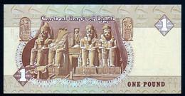 Egypte Egypt 1985 1 Livre 1 Pound Signature A Negm UNC Neuf Parfait - Egypt