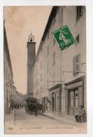 - CPA LA CADIÈRE (83) - La Grand'Rue Et Le Clocher 1912 (belle Animation) - Edition Le Deley 962 - - Sonstige Gemeinden