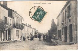 GONDRIN - Avenue  D'Eauze - Andere Gemeenten