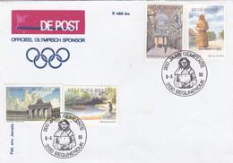 Enveloppe 2640 2641 2643 2645 200 Jaar Gemeente Begijnendijk - Covers & Documents