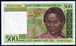 Madagascar 1994 500 Francs UNC Neuf Parfait état  Excellent Prix - Madagascar