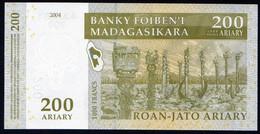 Madagascar 2004 200 Ariary 1000 Francs UNC Neuf Parfait état   Excellent Prix - Madagascar