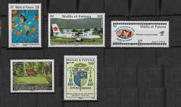 2006 Wallis Et Futuna N° 662 à 666 Nf** MNH . Oeuvre De S. Takaniua, Avion, Rugby à 7, Blason. - Unused Stamps
