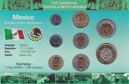 MEXICO - Set 8 Coins - Edelweiss Coins - Mexico