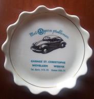 Asbak / Schoteltje 'Met Volkswagen Geen Problemen' Garage St. Christophe - Other