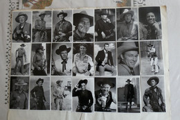 Lot 34 Carte Photo Legends Of Western Film. - Other Famous People