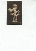 CPA FANTAISIES THEME ANGES SUPERBE CARTE /168  FRAIS D ENVOI VOIR DESCRIPTION - Angeles