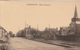 CHAMPTOCE-                   ROUTE NATIONALE - Andere Gemeenten