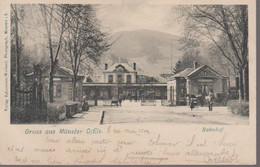 MUNSTER-- LA GARE - Munster