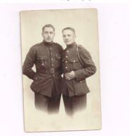 Deux Militaires Français. - Guerre, Militaire