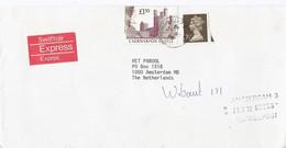 Groot Brittannie Expresse Brief Uit 1988 Met 2 Zegels (1141) - Briefe U. Dokumente