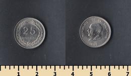 Salvador 25 Centavo 1986 - El Salvador