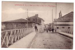 GRENADE  - Pont Sur La Save - Andere Gemeenten