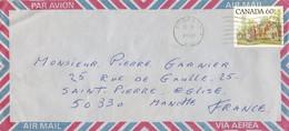 Canada Luchtpostbrief Uit 1982 Met 1 Zegel (1147) - Cartas