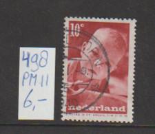 (W643.2) Plaatfout NVPH 498 PM11 Gestempeld CW 6,- - Abarten Und Kuriositäten