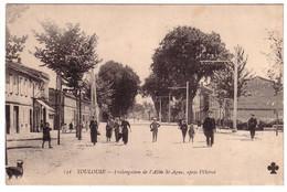 TOULOUSE - Prolongation De L'Allée St-Agne - Toulouse