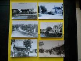 Photo T V  ,TRAMWAY Vendée  Collection Bourneuf ,lire Descriptif  , Gare  Chantonnay ,Les Herbiers ,Triaize ,Bourgneuf - Ternes
