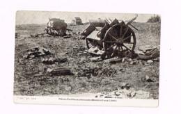 Pièces D'artillerie Allemande (Montreuil-aux-Lions) - Guerre 1914-18