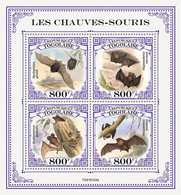 TOGO 2021 - Bats, Mushrooms. Official Issue [TG210122a] - Champignons