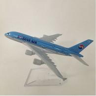Miniature Avion En Métal Moulé Aircraft Korean Air - Aviones & Helicópteros
