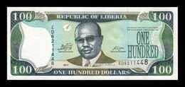 Liberia 100 Dollars 2011 Pick 30g SC UNC - Liberia