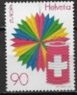 Suisse 1998 N° 1582 Neufs Europa Festivals Nationaux - 1998
