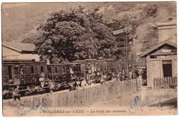 MOLIERES SUR CEZE - Le Train Des Mineurs - Andere Gemeenten