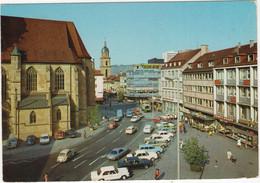 Heilbronn:  MERCEDES W108/109, 300 SL R107, BMW E3, VW 1500 VARIANT, 1200 KÄFER/COX - Kiliansplatz - (Neckar) - Turismo