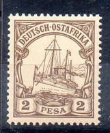 Alemania África Oriental Sello Nº Michel 11 ** BARCOS (SHIPS) - Colony: German East Africa