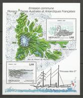 Feuillet   Monaco  En Neuf **  N  F 2829  Vendu Au Prix De La Poste - Unused Stamps