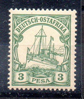 Alemania África Oriental Sello Nº Michel 12 ** BARCOS (SHIPS) - Colony: German East Africa